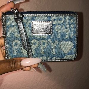 Coach poppy collection wallet. Used. Bit dirty